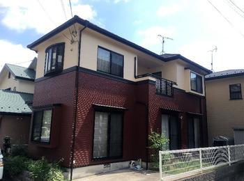 広島市 T様邸 外壁屋根塗装工事